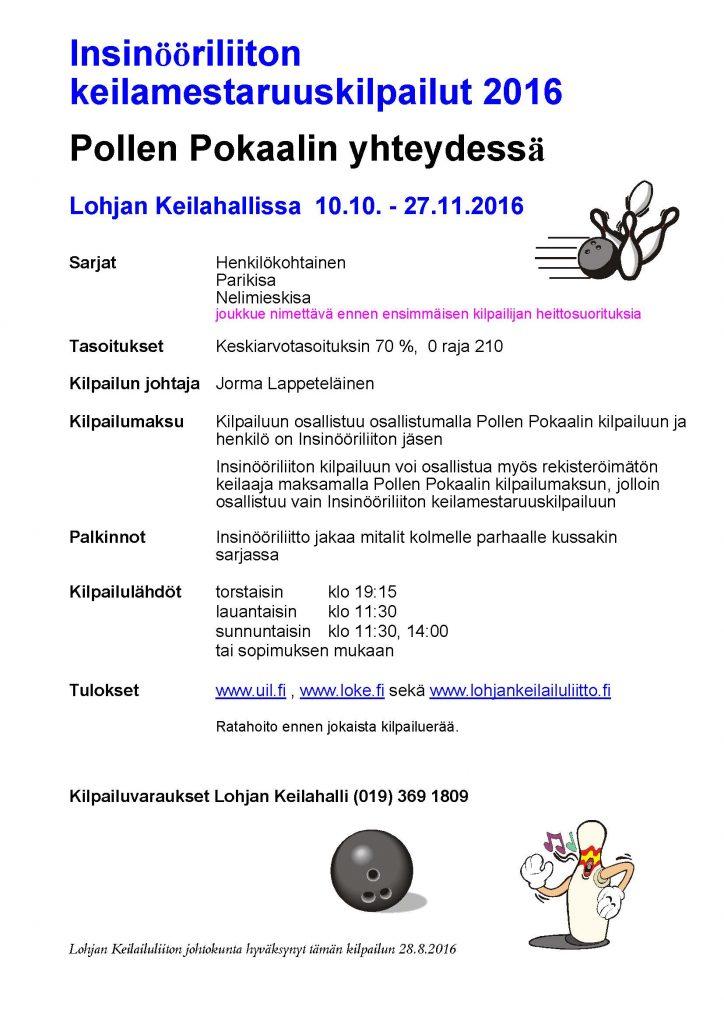 Kilpailu Insinööriliitto 2016
